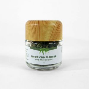 Super CBD Flower - 7 grams pure smokable flower