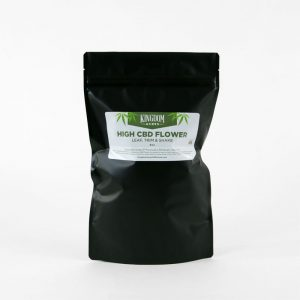 High CBD Flower, Leaf, Trim and Shake - 8 ounces pure unsifted product with full trichomes