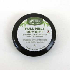Half Melt Dry Sift-2nd Run (Pure and Sifted) - .5 gram