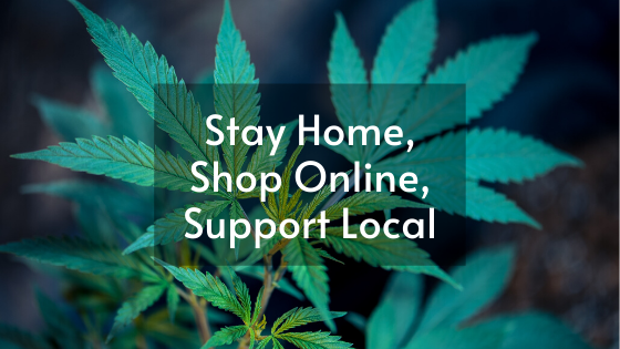 Stay Home, Shop Online, Support Local